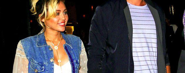Miley Cyrus und Liam Hemsworth während eines Dates in NYC 2016