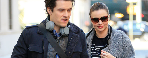 Orlando Bloom und Miranda Kerr in New York
