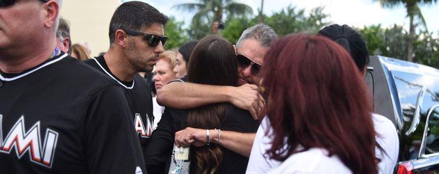 Bild der Trauerfeier für Jose Fernandez