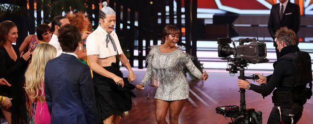 "Motsi Mabuse und Jorge Gonzalez in ""Let's Dance""-Show neun"