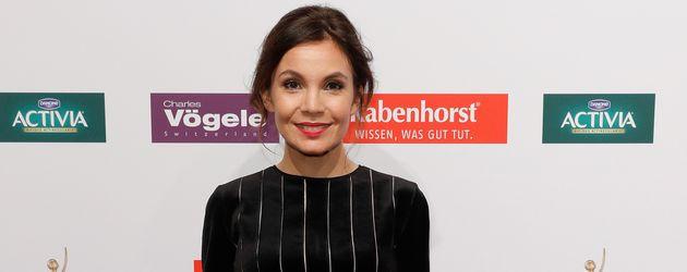 "Nadine Warmuth beim ""Goldene Bild der Frau""-Award in Hamburg"