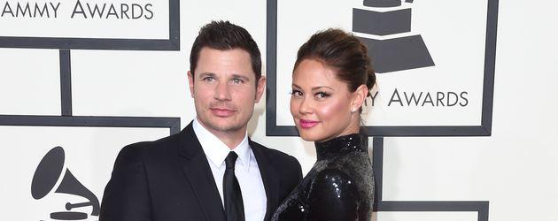 Nick Lachey mit seiner Ehefrau Vanessa bei Grammy-Award in Los Angeles