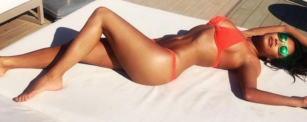 Nicole Scherzinger auf Ibiza