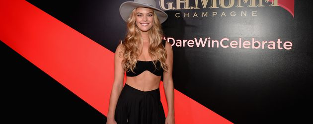 Nina Agdal beim  Kentucky Derby in NYC