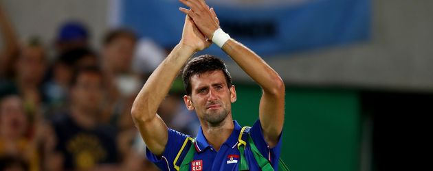 Tennis-Star Novak Djokovic