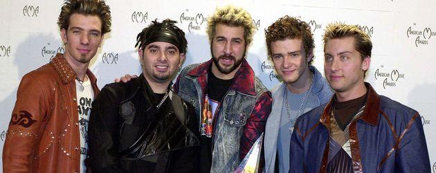 *NSync bei den American Music Awards 2001
