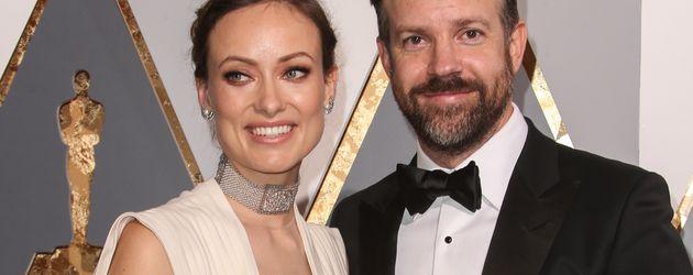 Olivia Wilde und Jason Sudeikis bei der Oscar-Verleihung 2016