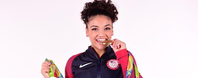 Olympia-Siegerin Laurie Hernandez