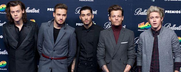 One Direction mit Zayn Malik 2014