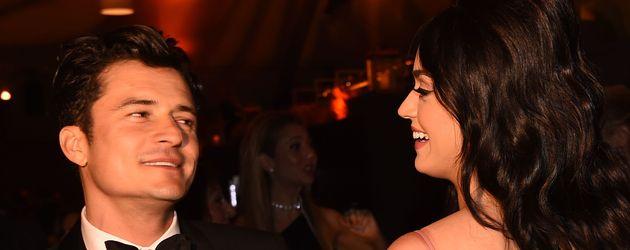 Katy Perry und Orlando Bloom bei den Golden Globes 2016
