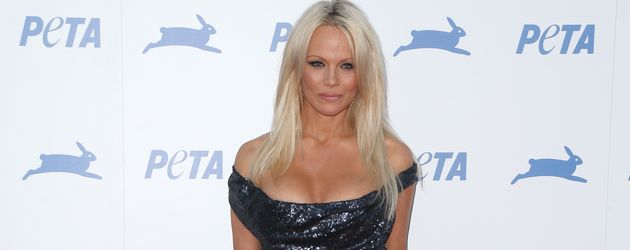 Pamela Anderson bei einem Jubiläum von Peta