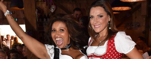 Patricia Blanco und Simone Ballack