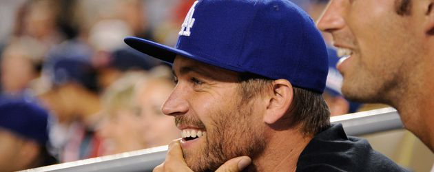 Paul Walker beim Spiel der Arizona Diamondbacks vs. Los Angeles Dodgers 2011