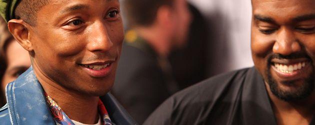 Kanye West und Pharrell Williams