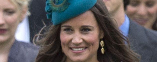 Pippa Middleton bei einer Hochzeit 2013