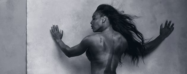 Serena Williams im Pirelli Kalender 2016