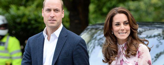 Prinz William und Herzogin Kate beim World Mental Health Day