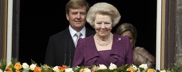 König Willem-Alexander und Königin Beatrix