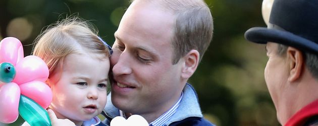 Prinzessin Charlotte und Prinz William