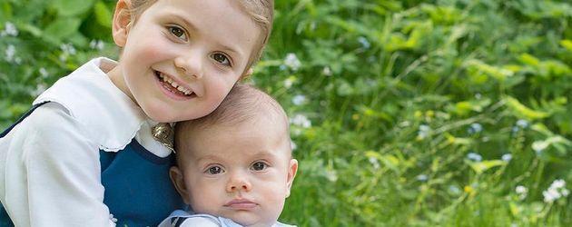 Prinzessin Estelle und Prinz Oscar von Schweden