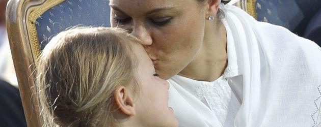 Prinzessin Estelle und Kronprinzessin Victoria bei den Feierlichkeiten zu ihrem 40. Geburtstag