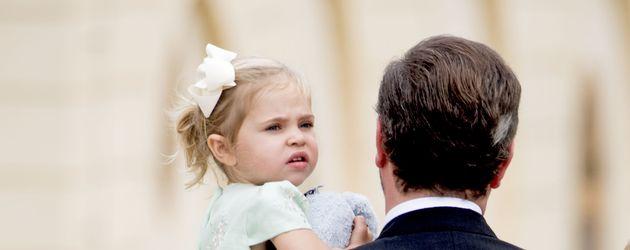 Prinzessin Leonore bei der Taufe von Prinz Alexander