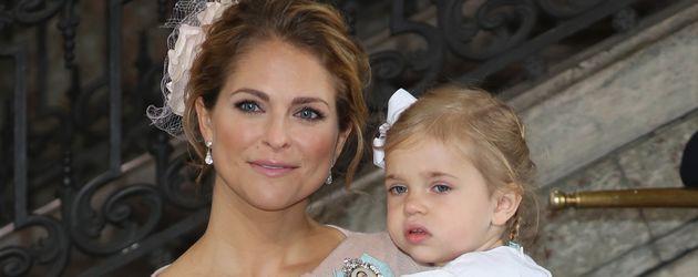 Prinzessin Madeleine und Prinzessin Leonore