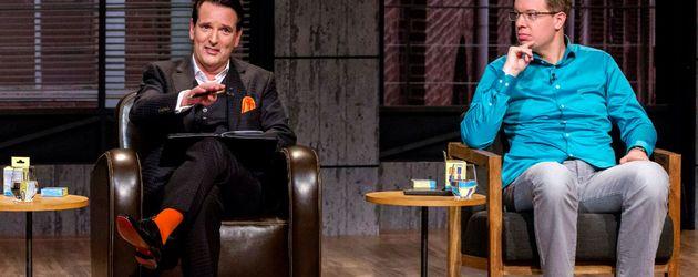 """Ralf Dümmel und Frank Thelen in der zweiten Folge """"Die Höhle der Löwen"""" 2016"""