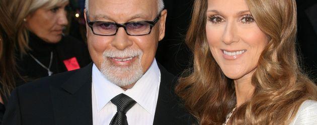 René Angélil und Celine Dion bei der Oscar-Verleihung 2011