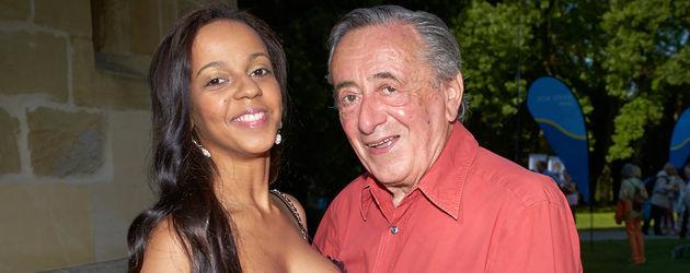 "Richard Lugner mit Ex-Freundin Bahati ""Kolibri"" Venus"