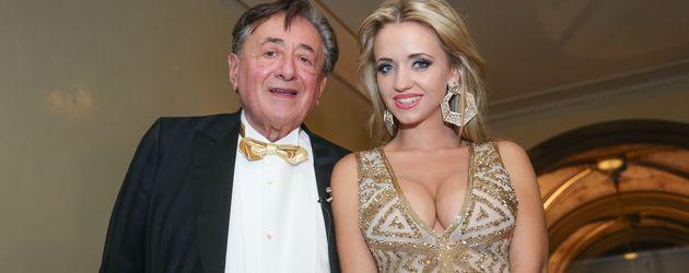 Richard und Cathy Lugner beim Wiener Opernball im Februar 2015