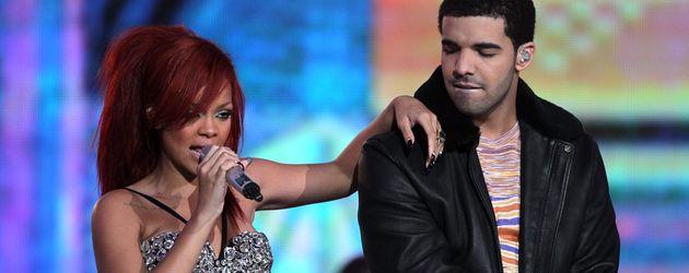 Rihanna und Drake bei einem Auftritt im Jahr 2011