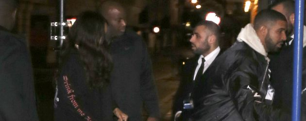 Rihanna und Drake in London