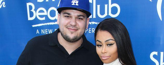 Rob Kardashian und Blac Chyna in einem Club in Las Vegas