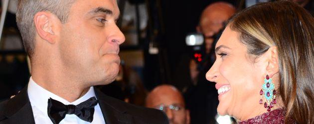 Robbie Williams und Ayda Field