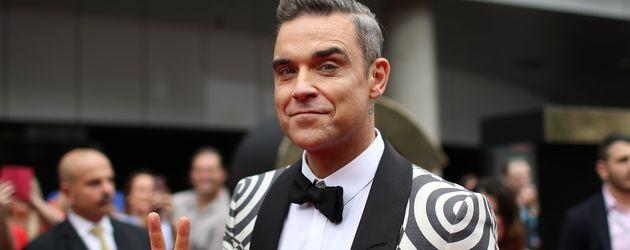 Robbie Williams bei den 30. ARIA Awards in Sydney