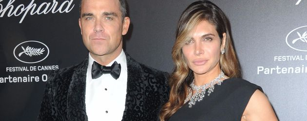 Robbie Williams und Ayda Field bei der Chopard Party in Cannes