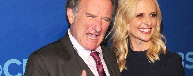 Sarah Michelle Gellar und Robin Williams
