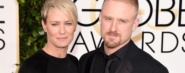 Ben Foster und Robin Wright bei den Golden Globes