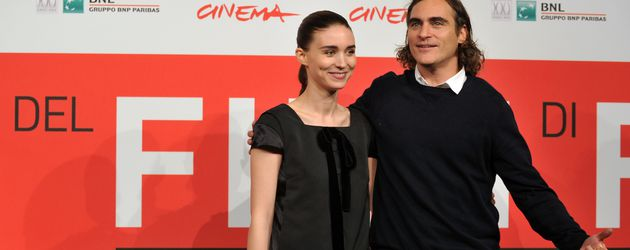 Rooney Mara und Joaquin Phoenix beim Rome International Film Festival 2013