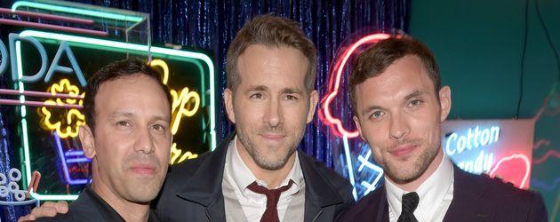 Ryan Reynolds und Ed Skrein