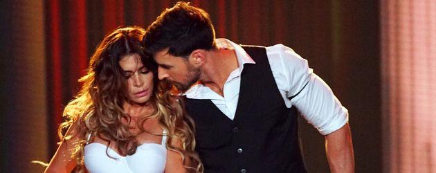 "Sabia Boulahrouz und Leonard Freier bei ""Dance Dance Dance"""