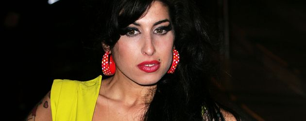 Sängerin Amy Winehouse bei den Brit Awards 2007