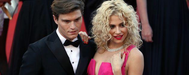 Model Oliver Cheshire und Sängerin Pixie Lott