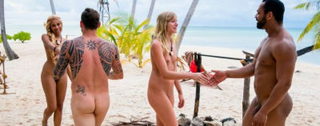 Promis nackt in Szenen