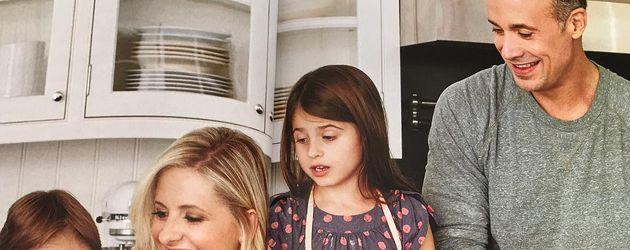 Sarah Michelle Gellar und Freddie Prinze Junior mit ihren Kindern