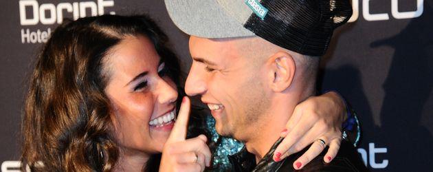 """Sarah und Pietro Lombardi bei der Musical-Premiere von """"Bodyguard"""" in Köln"""