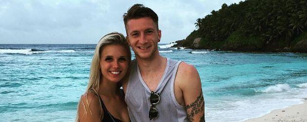 Scarlett Gartmann und Marco Reus im Urlaub