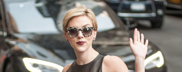 Scarlett Johansson unterwegs in New York