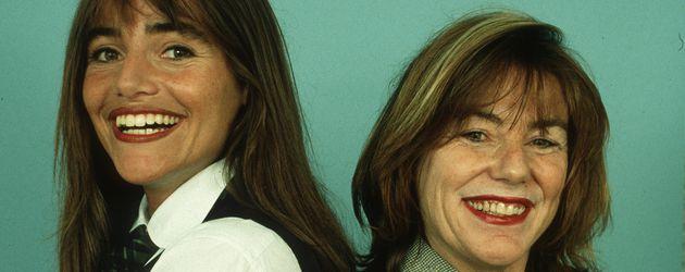 Schauspielerin Katja Bienert und ihre Mutter Evelyn Bienert